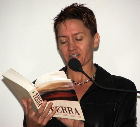Anthology Terra - Sandra Thiboudeaux at the Sydney Writers' Festival